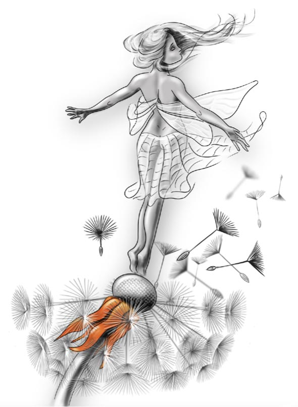 Contemporary Fairy design by Robin Wight