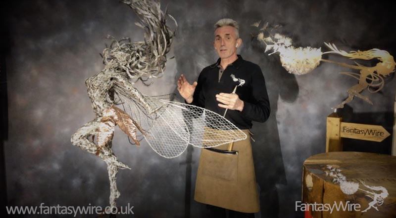 How to make a wire sculpture by Robin Wight